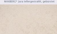 SSG Maxberg® Jura Kalkstein gelb Athina tellergestrahlt und gebürstet