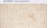 SSG Maxberg® Jura Kalkstein scharriert Oberbank