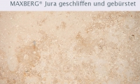 SSG Maxberg® Jura Kalkstein gelb Luna geschliffen und gebürstet